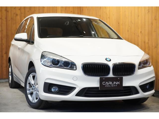 BMW 218dグランツアラー インテリジェントセーフティ 衝突回避ブレーキ レーンアシスト 歩行者感知 HDDナビ バックカメラ クリアランスソナー Bluetooth接続 ETC HIDオートライト キーレス 禁煙車 1オーナー