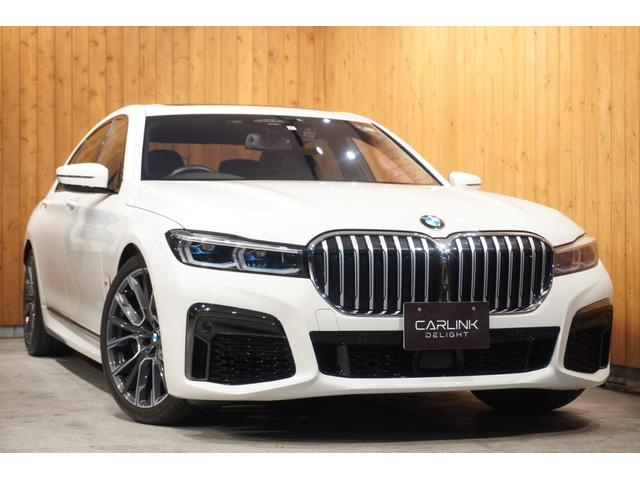 BMW 750Li xDrive Mスポーツ 2019後期 リヤコンフォートPKG+ パノラマSR 前後席マッサージ/ベンチレーション/ヒーター機能ナッパ革 イノベーションPKG ディスプレイキー リモートパーキング リアエンターテイメント 禁煙