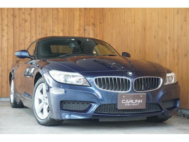 BMW sDrive23i MスポーツPKG ヒーター付黒革スポーツシート 電動オープン パドルシフト付革巻きステアリング HIDヘッドライト ETC 純正ナビ 地デジTV バックカメラ 16インチAW スペアキー