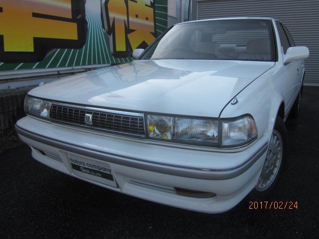 トヨタ スーパールーセント JZX81 ワンオーナー セダン