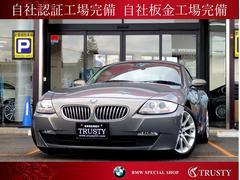 BMW Z4クーペ3.0si 黒本革 純正HDDナビ パドルシフト