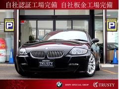 BMW Z4クーペ3.0si 純正17AW 赤革 外HDDナビ 1年保証