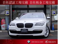 BMW750i MスポーツPKG 純正19AW HDDナビ 禁煙車