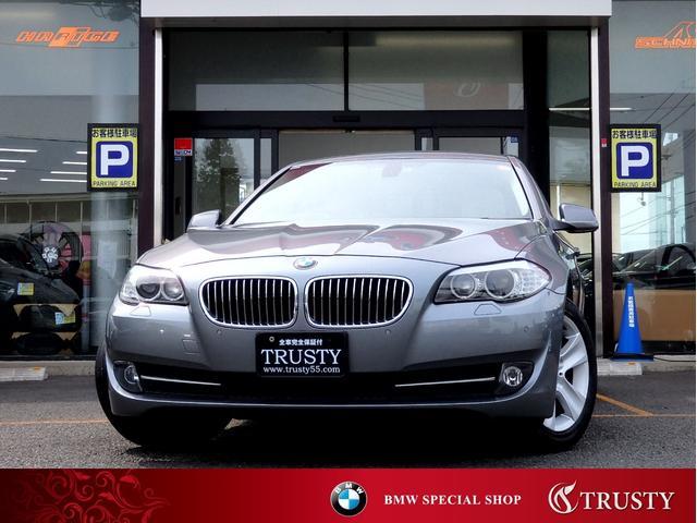 BMW 528i ハイラインPKG ディーラー下取 アイボリー革