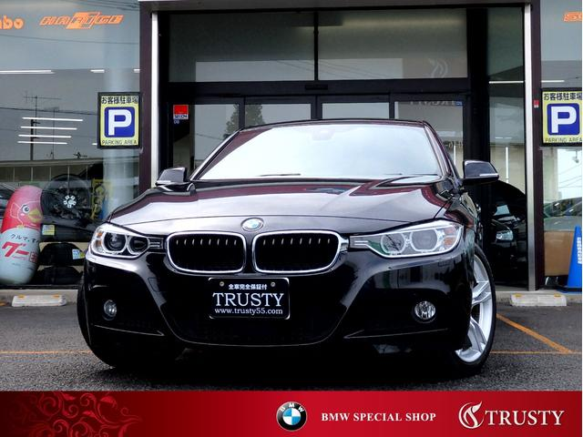 BMW 320i MスポーツPKG DTV 黒革 ACC インテリS
