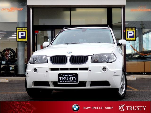 BMW X3 2.5i 下取車 社外ナビ Bカメラ 同色ペイント...