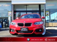 BMW 220iクーペ MスポーツDアシスト クルコン 1年保証(BMW)