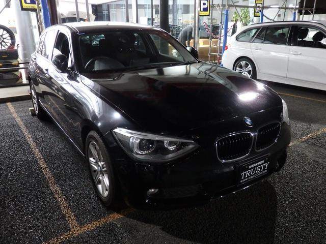 BMW 116i ディーラー下取車 走行23400km 純正16インチAW 純正ナビ ETC バックカメラ バイキセノンヘッドライト リアフィルム 1年保証