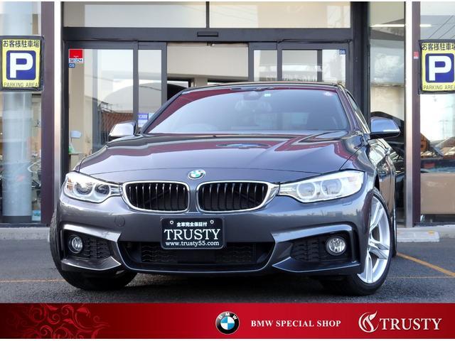 BMW 4シリーズ 420iグランクーペ Mスポーツ 後期エンジン 自動追従 Dアシスト 1オーナー車 純正19AW 純正フルエアロ HDDナビ CD DVD MSV AUX USB ETC Bカメラ PDC スマートキー メモリーPシート 1年保証