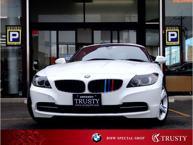 BMW Z4 sDrive20i ハイラインパッケージ 2Lターボエンジン 純正17AW ブラックレザー HDDナビ DVD CD バックカメラ ミュージッサーバー バイキセノン メモリーパワーシート パドルシフト マルチステア 記録簿7枚 1年保証
