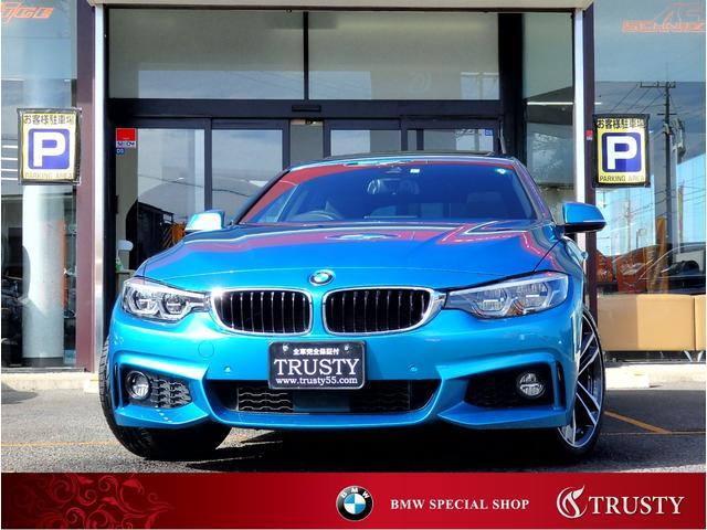 BMW 4シリーズ 420i xDriveグランクーペ Mスポーツ 4WD 後期モデル 純正OP19インチAW 純正フルエアロ サンルーフ HDDナビ フルセグTV PDC バックカメラ アダプティブLEDヘッドライト 自動追従 マルチディスプレイメーター 禁煙車 1年保証