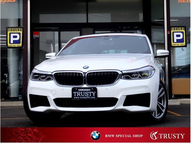 BMW 6シリーズ 630i グランツーリスモ Mスポーツ 1オーナー パノラマサンルーフ 純正19AW 黒本革 全席シートヒーター ドライビングアシストプラス レーンキープアシスト パドルシフト ハーマンカードン フルセグ 自動追従クルコン 新車保証