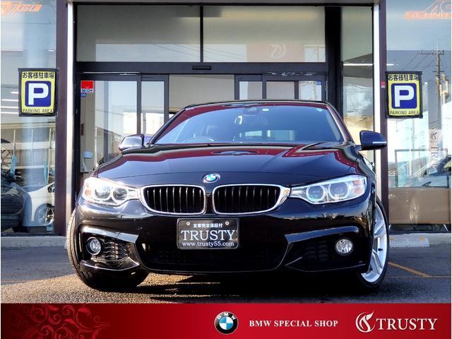 BMW 420iグランクーペ Mスポーツ 後期EG 1オーナー車 ディーラー下取車 自動追従 ドライビングアシスト 純正18インチAW 純正フルエアロ HDDナビ ブルートゥース ETC バックカメラ PDC スマートキー 1年保証