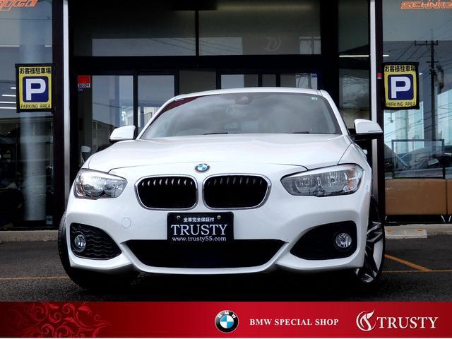 BMW 118d Mスポーツ 後期型 自動追従 PサポートPKG 純正18AW 純正フルエアロ Mスポーツブレーキ アルカンターラスポーツシート HDDナビ ブルートゥース スマートキー Dアシスト 2ゾーンエアコン 1年保証