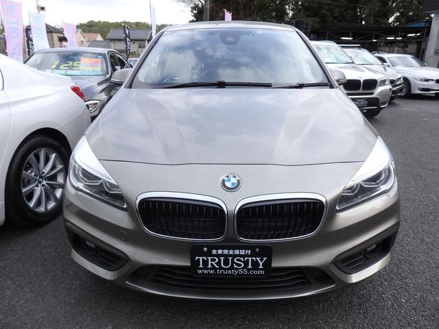 BMW 2シリーズ 218dグランツアラー 7人乗り ディーゼルターボエンジン パーキングサポートPKG ドライビングアシスト ブルートゥース バックカメラ LEDヘッドライト フロントドラレコ アンビエントライト パワーリアゲート 1年保証