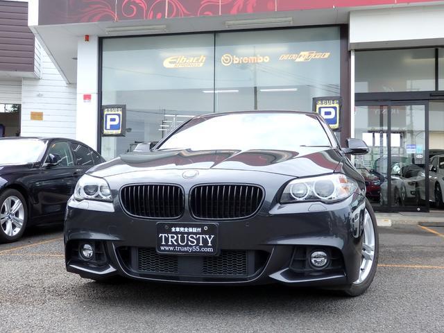 BMW 5シリーズ 523d Mスポーツ 後期モデル アイボリーレザー 自動追従 Dアシスト リアモニター 社外DVDデッキ 純正18AW 純正フルエアロ アイボリーレザー HDDナビ パドルシフト フルセグ シートヒーター 1年保証