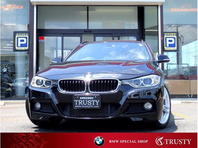 BMW 328iツーリング Mスポーツ フルセグTV 純正18インチAW 純正フルエアロ HDDナビ フルセグTV CD AUX USB ブルートゥース バックカメラ リアPDC スマートキー バイキセノン パドルシフト 1年保証