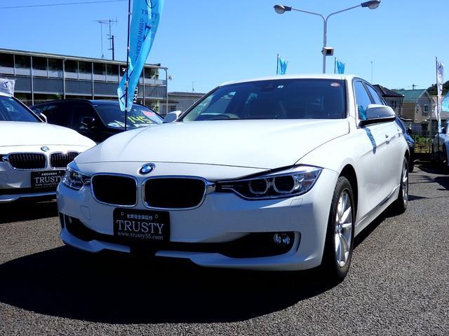 BMW 320i 自動追従 ドライビングアシスト 純正16インチAW HDDナビ DVD Mサーバー ブルートゥース バイキセノン バックカメラ スマートキー メモリーパワーシート リアフィルム 記録簿 1年保証