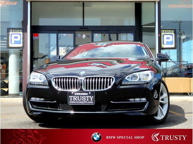 BMW 6シリーズ 650iクーペ ディーラー下取車 LEDヘッドライト 純正OP19AW サンルーフ ブラックレザー HDDナビ フルセグ Mサーバ バックカメラ クルーズコントロール シートエアコン コンフォートシート 1年保証