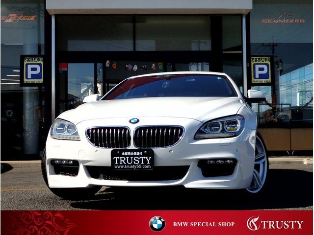 BMW 640iグランクーペ Mスポーツパッケージ 純正19AW フルエアロ ブラックレザー LEDヘッドライト HDDナビ フルセグTV DVD Mサーバー バックカメラ PDC シートヒーター メモリーパワーシート クルーズコントロール 1年保証