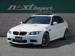 BMWM3 MドライブPKG SMG サンルーフ 黒革シート
