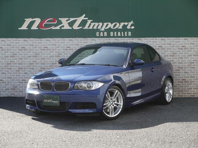 BMW 1シリーズ 135i 6MT ブラックレザーシート シートヒーター メモリー機能付きパワーシート ETC 18AW 純正HDDナビ CD AUX ミュージックコレクション プッシュスタート