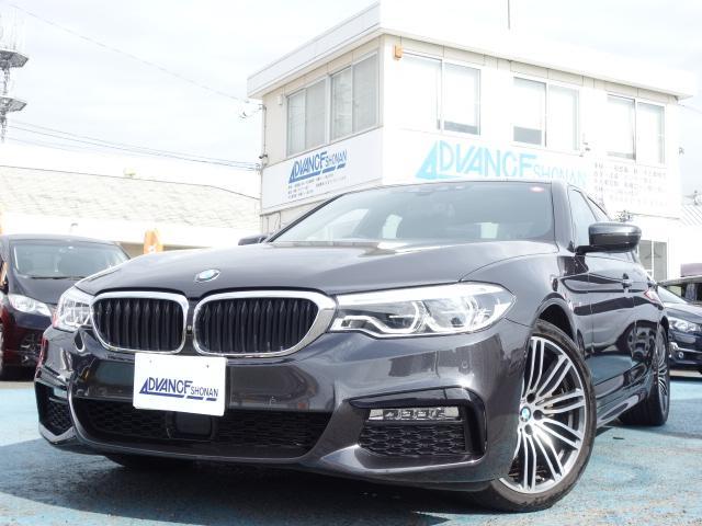 BMW 523d Mスポーツ ワンオーナー 本革シート 禁煙車 純正HDDナビ Bluetooth対応 フルセグTV スマートキー ETC バックカメラ アラウンドビューモニター コーナーセンサー パワーシート 全席シートヒーター