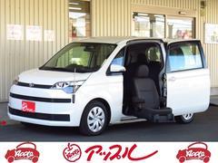 スペイド福祉車 助手席リフトアップシート 電動式車いす収納装置