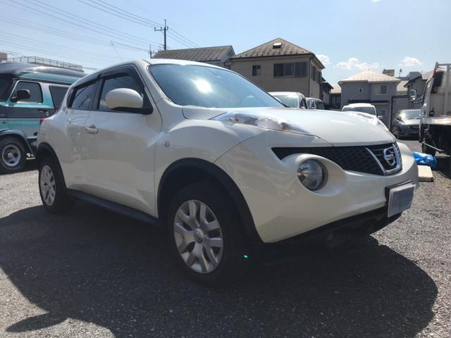 日産 ジューク 15RX タイプV 純正ナビ フルセグ HID イ...