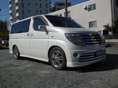 エルグランド ライダー 純正ナビ ETC インテリキー 4WD(