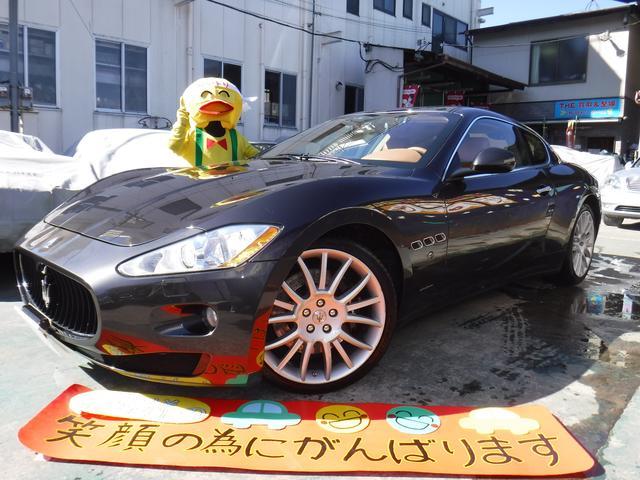 マセラティ S オートマティック 純正モニタ有 社外ナビ 保証書