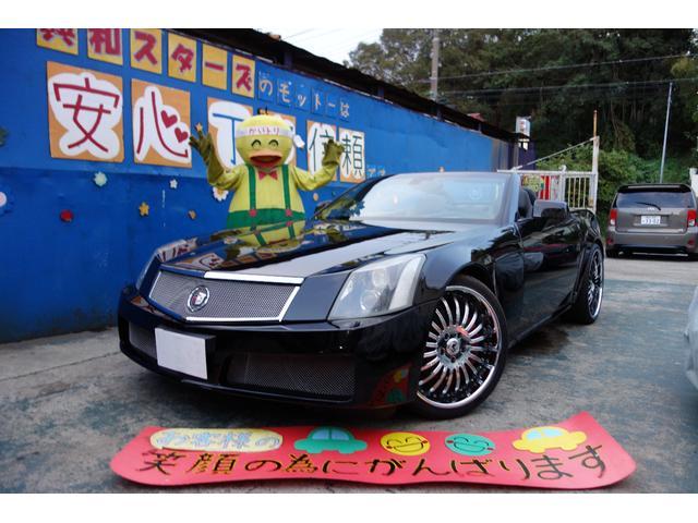 キャデラック 外装カスタム アシャンティ22インチ エアロ 黒レザー