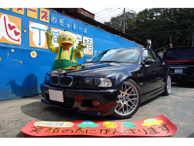 BMW M3クーペ 6MT CS19インチアルミ CSLトランク