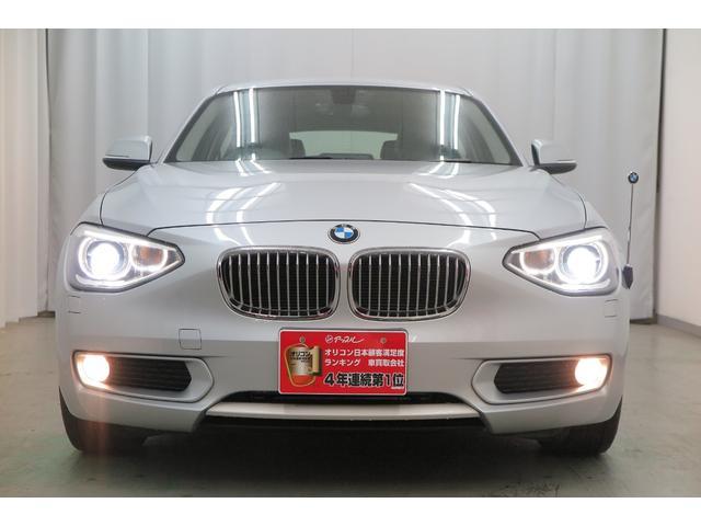 BMW 116i スタイル ハーフレザー 社外ナビ 地デジ HID