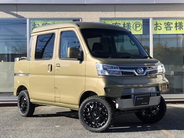 ダイハツ ハイゼットカーゴ デッキバン G SAIII 4WD デモカーRIDE+TECHコンプリート仕様