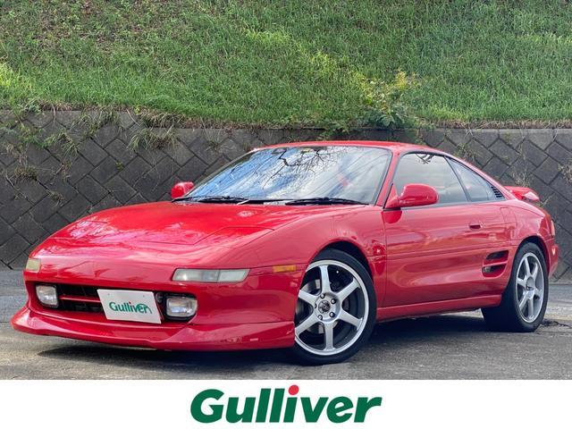 トヨタ MR2 GT TRD製マフラー AVS製17インチアルミホイール フォグライト ABS Defi製メーター BOSEツイーター 社外ハンドル