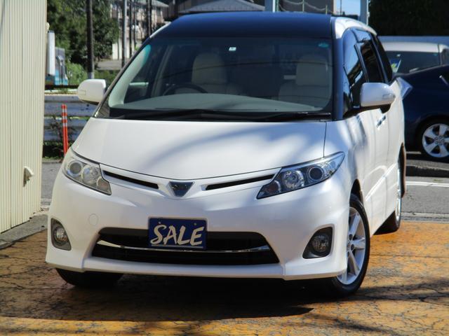 トヨタ 2.4アエラス Gエディション中期型禁煙車HIDガラスルーフ