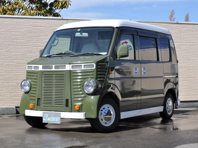 スズキ PA 移動販売車 バス仕様 内装カスタムペイント
