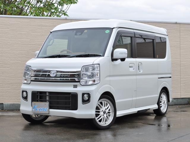 マツダ PZターボ スペシャル 4WD 両側パワスラ 純正SDナビ