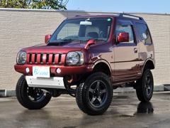 ジムニーワイルドウインド 4WD 5MT リフトアップ 社外マフラー