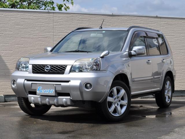 日産 Xtt 4WD ユーザー買取車 革シート シートヒーター