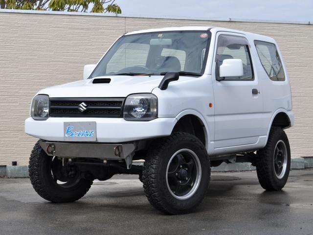 スズキ ジムニー XC 4WD リフトアップ 前後社外バンパー スズキスポーツエアークリーナー