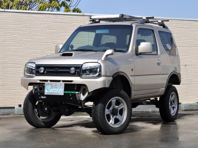 スズキ ジムニー ワイルドウインド 4WD 5MT リフトアップ ヒッチメンバー 社外ヘッドライト