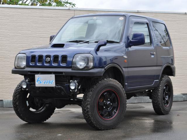 スズキ ワイルドウインド 4WD ターボ車 ヒッチメンバー リフトアップ 16インチAW ラテラルロッド 背面タイヤ フォグランプ 社外ハンドル オーディオレス