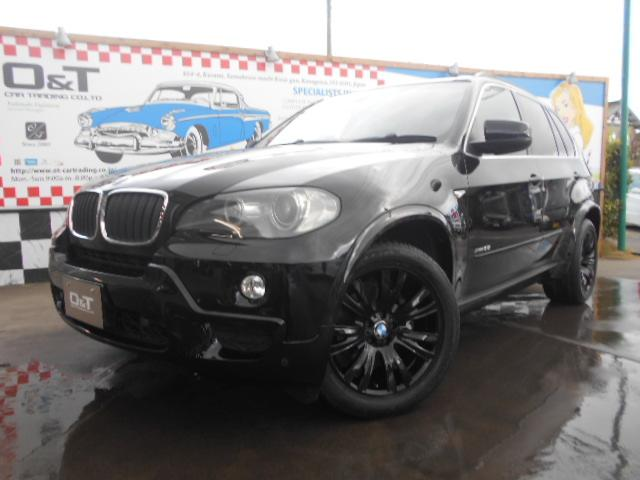 BMW xDrive 30i Mスポーツパッケージ ブラックレザーシート サンルーフ 純正ナビ バックカメラ スマートキー ETC HID ブラック塗装アルミホイール パワーシート 記録簿