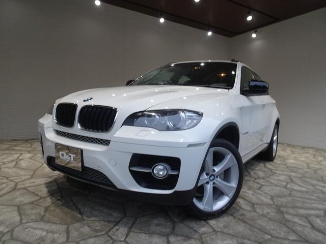 BMW X6 xDrive 35i 禁煙車 パドルシフト レザーシート 前後ソナー Bカメラ コンフォートアクセス HID クルコン パワーゲート シートヒーター 記録簿