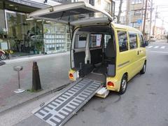 ミニキャブバン福祉車両 車いすスロープ車