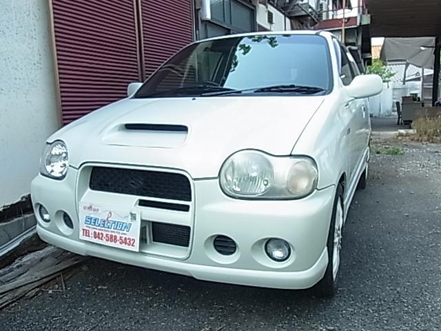 「スズキ」「アルトワークス」「軽自動車」「東京都」の中古車