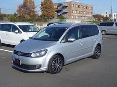 VW ゴルフトゥーランTSI ハイライン 禁煙車 ナビ ETC 1オーナー