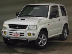 パジェロミニV 4WD ターボ 4速オートマCD LEDヘッドライト